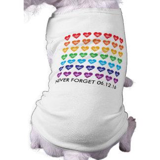 Um Orlando um animal de estimação do arco-íris dos Camisa Sem Mangas Para Cachorro