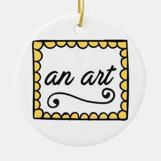 Um ornamento da arte