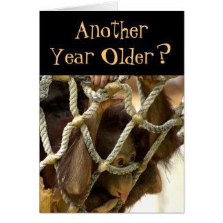 Um outro cartão de aniversário mais velho do ano
