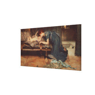 Um paraíso terrestre, 1891 (óleo em canvas) impressão em tela canvas