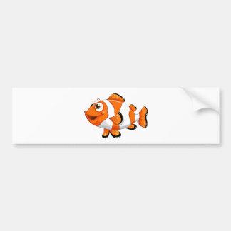 Um peixe do nemo adesivo para carro