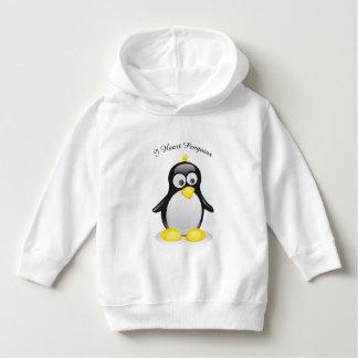 Um pinguim inspirou o hoodie do pulôver para