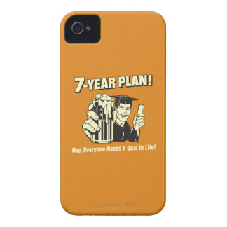 Um plano de 7 anos: Todos precisa um objetivo Capinhas iPhone 4