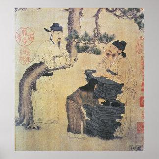 Um poeta chinês antigo posteres
