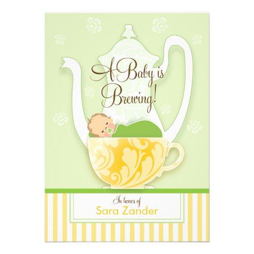Um ponto morto do género do tea party | do chá de  convite