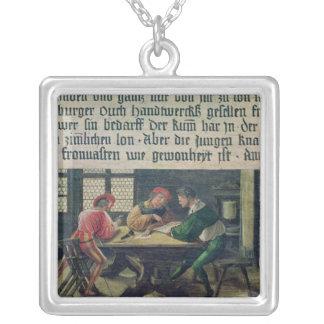 Um professor colares personalizados