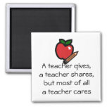 Um professor cuidado-Personalizou-o Ima