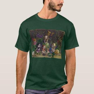 Um recolhimento da camisa feericamente gótico dos
