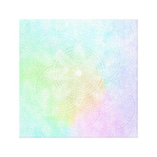 Um respingo do impressão Pastel das canvas