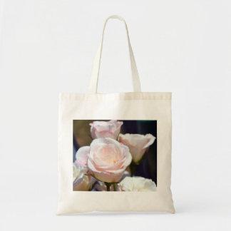 Um rosa para você bolsas para compras