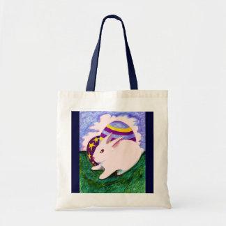 Um saco da páscoa bolsas