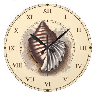 Um Shell Relógios Para Paredes