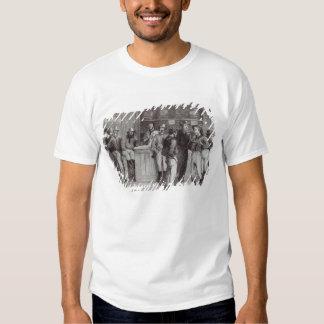 Um shout', geral dentro de uma taberna do arbusto, t-shirts