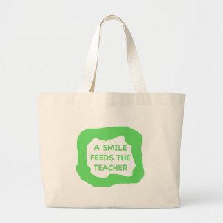 Um sorriso alimenta o professor .png bolsa para compra