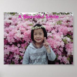 Um sorriso bonito poster