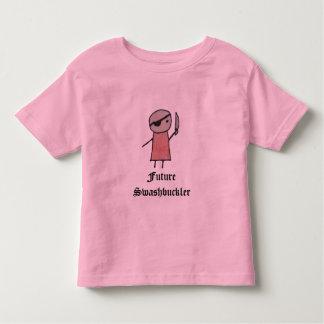 Um t-shirt pequeno da campainha da criança do