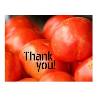 Um tomate, cartão de dois tomates