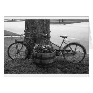 Uma bicicleta construída para dois cartão