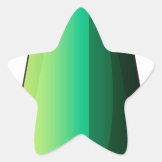 Uma bomba alongada adesito estrela