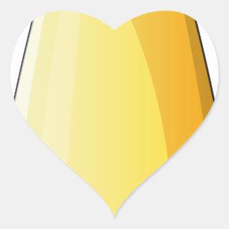 Uma bomba mortal adesivo coração