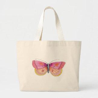 Uma borboleta grande bolsa para compras
