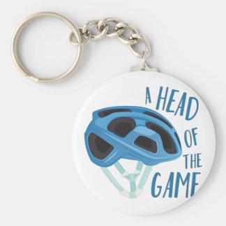 Uma cabeça do jogo chaveiro
