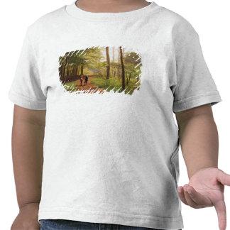Uma caminhada na floresta tshirt
