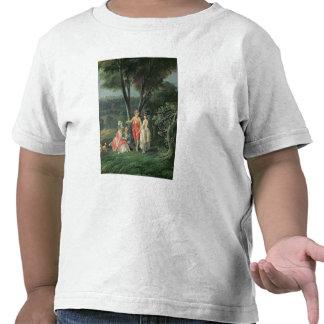 Uma caminhada no parque camisetas