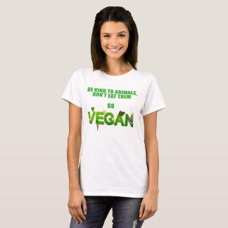 Uma camisa do Vegan para amantes dos animais