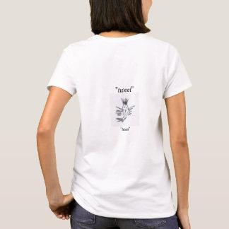 uma camisa doce do tweet para o tweeter