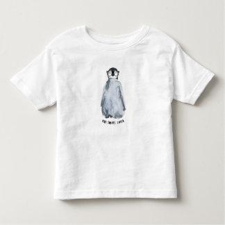 Uma camisa esperta do pinguim do pintinho
