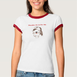 Uma camisa farpada bonito do Collie T