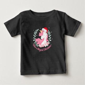 Uma camisa mágica do unicórnio   do Natal