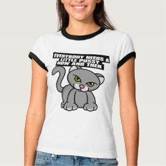 Uma camisa pequena 1 do bichano