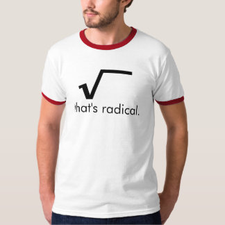 Uma camisa radical!