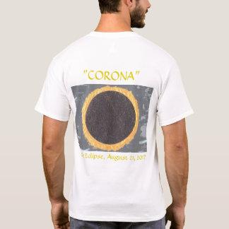 uma camiseta para o evento do eclipse solar