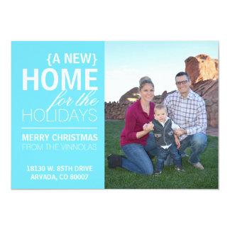 Uma casa nova para o cartão dos feriados