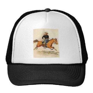 Uma cavalaria comanda por Remington, forças Boné