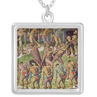 Uma celebração bárbara colar personalizado