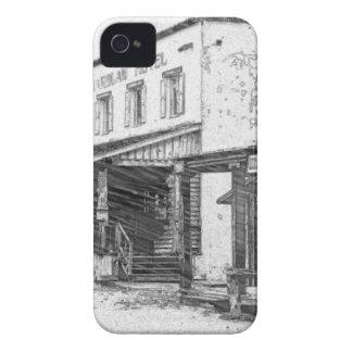 Uma cidade ocidental velha capas para iPhone 4 Case-Mate