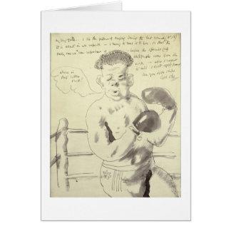 Uma coleção de oito ilustrou letras a seu F Cartão Comemorativo