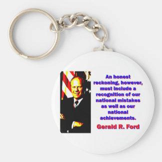 Uma conta honesta - Gerald Ford Chaveiro