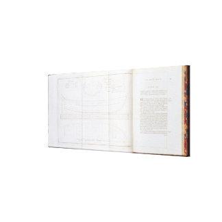 Uma cópia do esboço de que o laun da recompensa impressão de canvas envolvidas