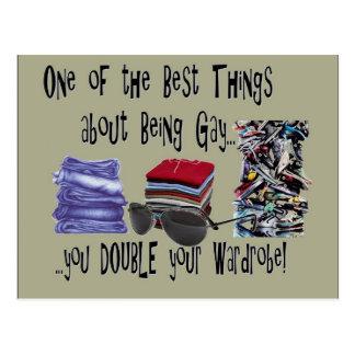 Uma das melhores coisas sobre ser alegre…. cartão postal