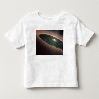 Uma diferença em um protoplanetary, ou na camiseta infantil
