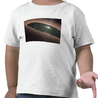 Uma diferença em um protoplanetary, ou na tshirt