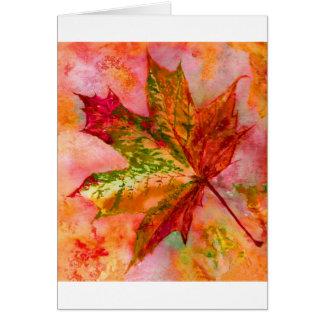 Uma folha de bordo cartão comemorativo