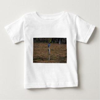 Uma garça-real no Slough Camiseta Para Bebê