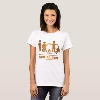Uma guitarra da estrela, vagabundos Yah de Kum Camiseta