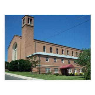 Uma igreja Católica Cartao Postal